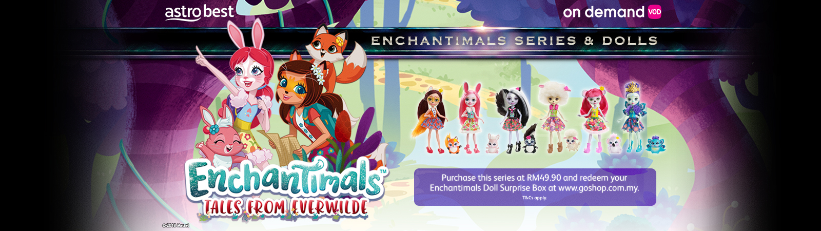 Enchantimals Series & Dolls