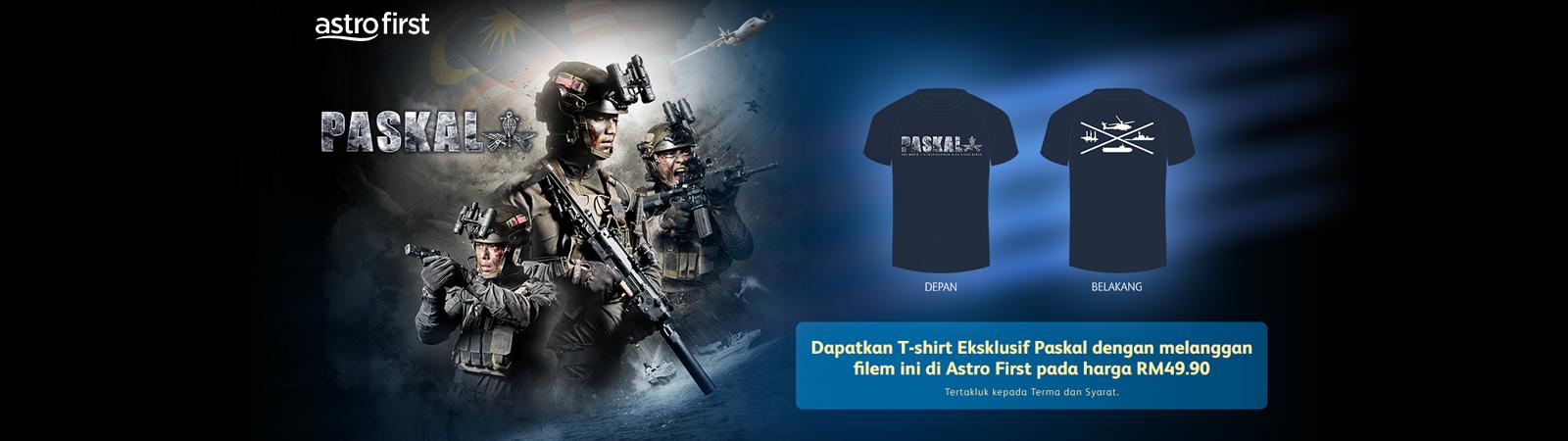 Paskal + T.Shirt Eksklusif