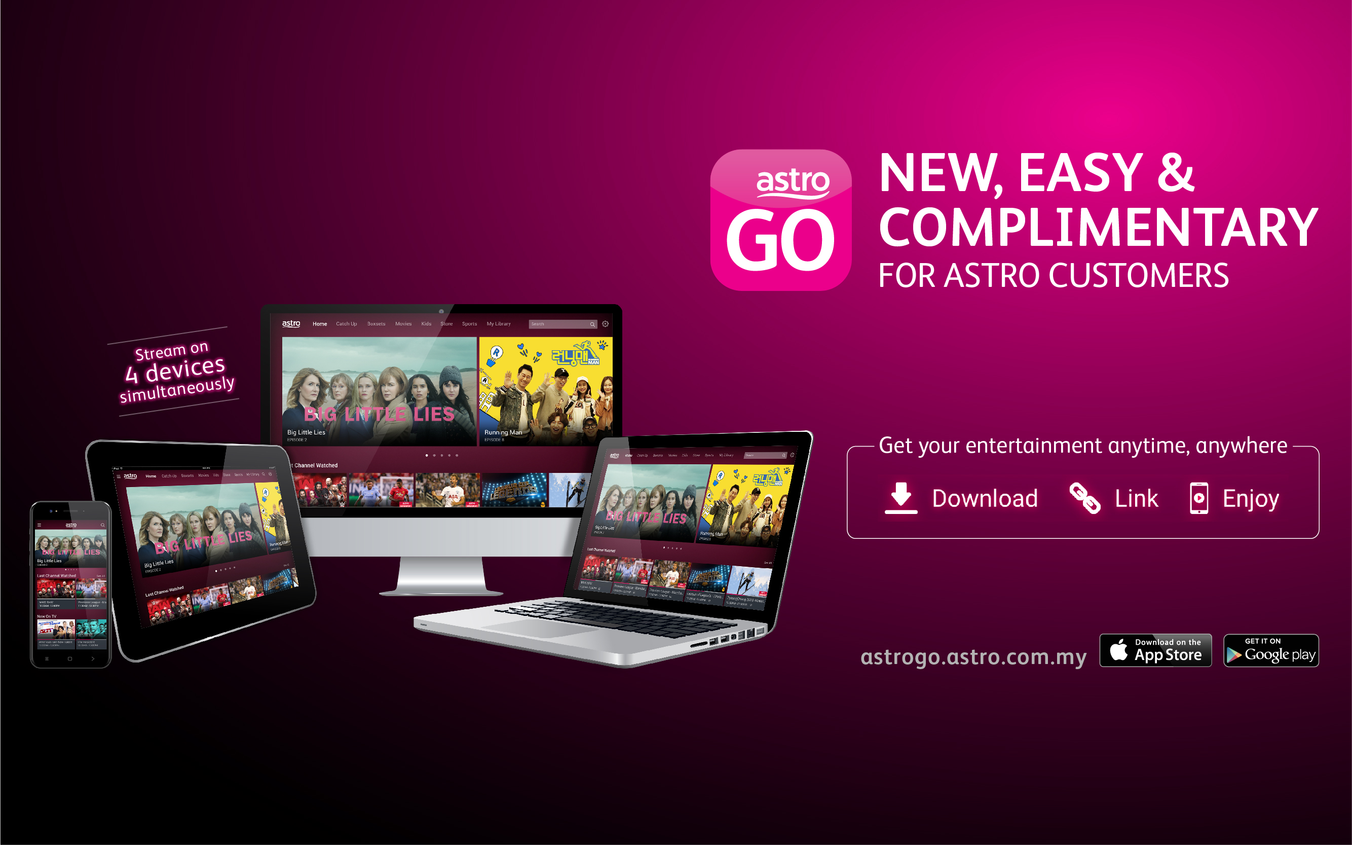 Astro GO's new look is here!
