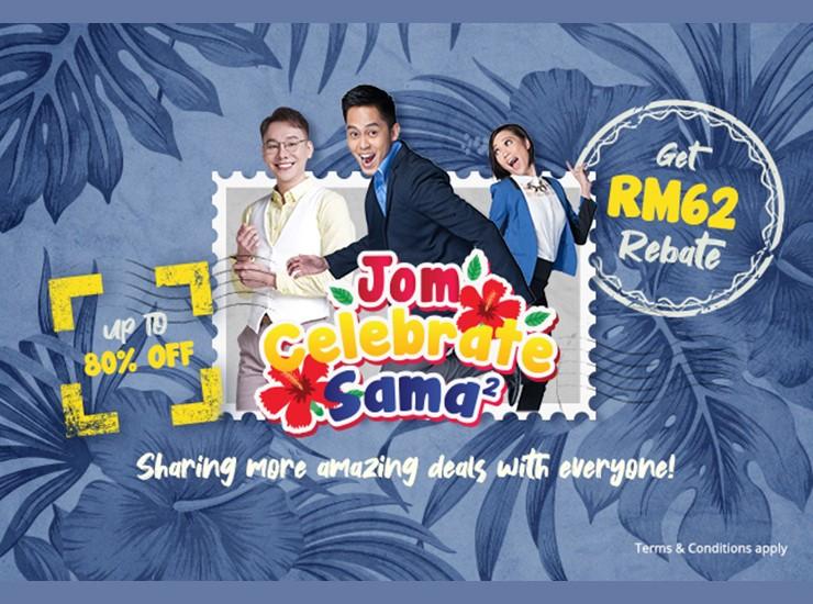 Promosi rebat RM62 'Jom Celebrate Sama-Sama' Go Shop bersempena Hari Kebangsaan & Hari Malaysia