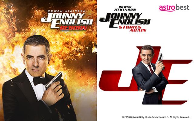 Johnny English Reborn & Johnny English Srikes Again