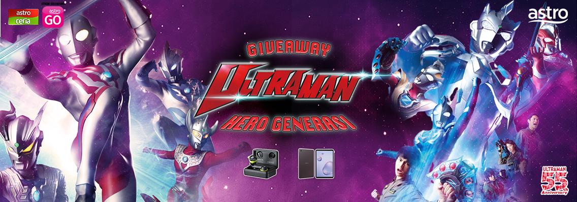 Peraduan Snap & Menang Ultraman Hero Generasi
