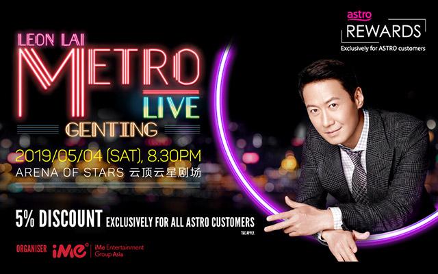 "Leon Lai ""METRO LIVE"""