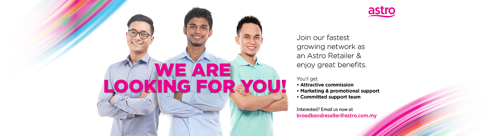 Be part of Astro now!