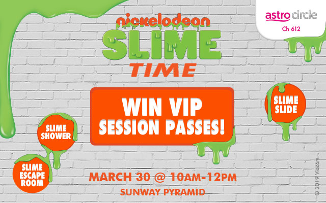 Slime time is here