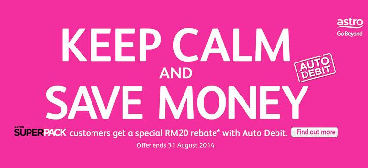 RM20 Rebate with Astro Super Pack Auto Debit