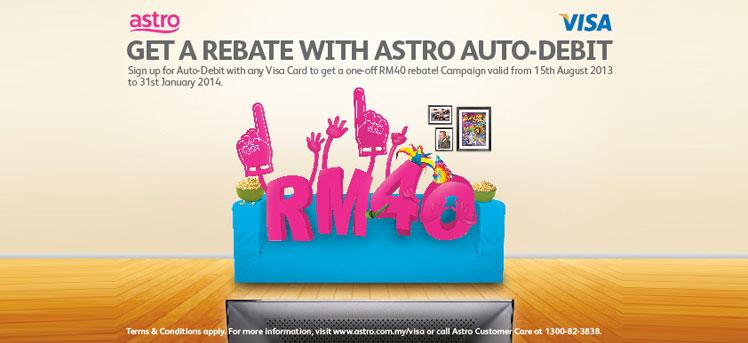 RM40 rebate with Visa Card Auto-Debit