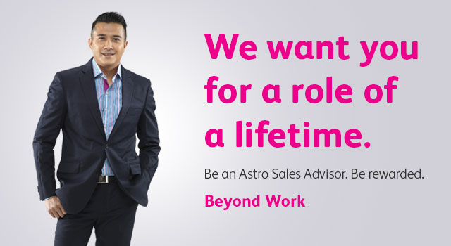 Be an Astro Sales Advisor