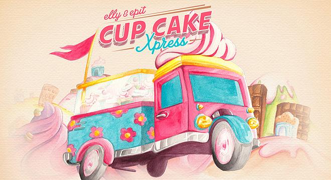 Elly & Epit Cupcake Xpress