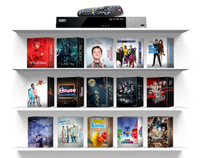 Astro PVR - HD Channels, Control Live TV & Watch On Demand