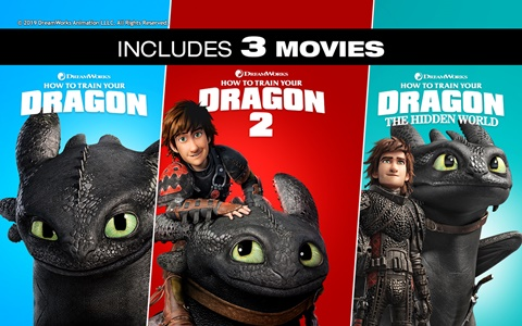 How to Train Your Dragon 3-Movie Bundle