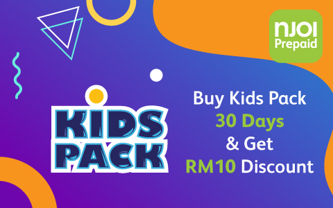 Buy Kids Pack & Get RM10 Extra!