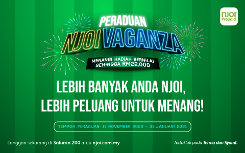 Join Peraduan NJOIVaganza Now!